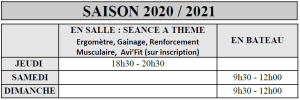 Horaires Loisirs